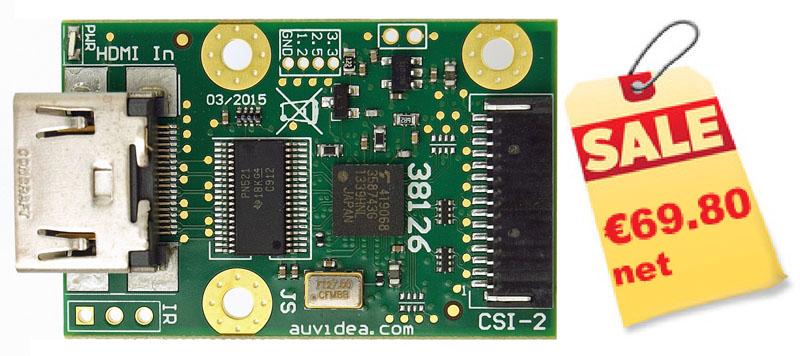 B101 HDMI to CSI-2 Bridge (15 pin FPC) – Auvidea