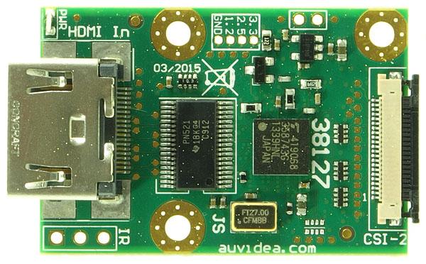 B102 HDMI to CSI-2 Bridge (22 pin FPC) – Auvidea