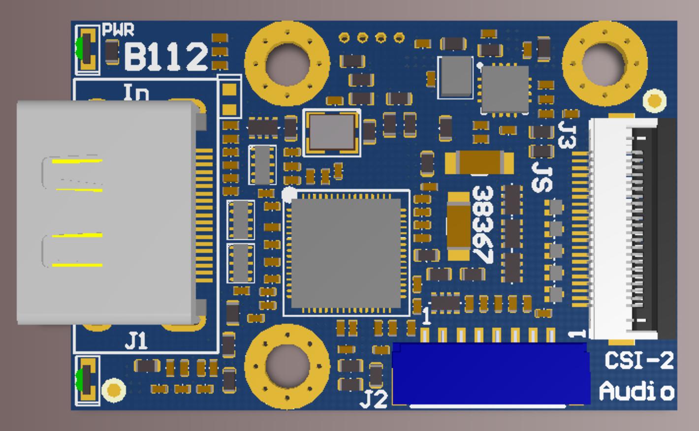 B112 4k HDMI to CSI-2 bridge