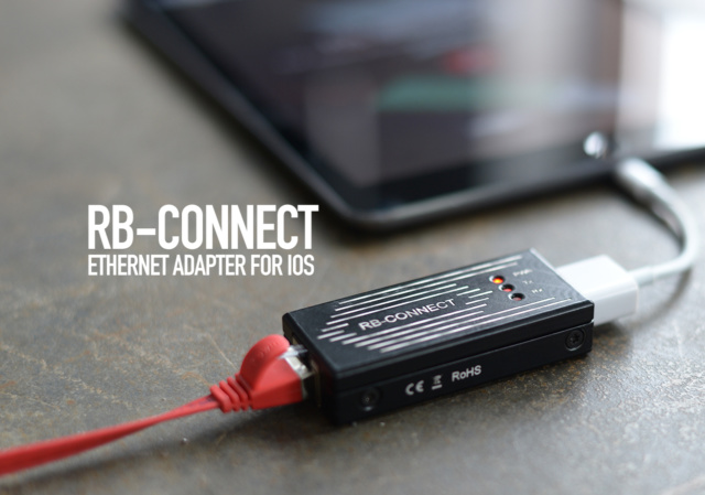 RB-Connect Ethernet for Apple iOS