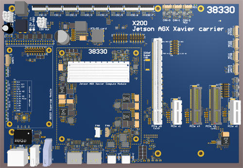 Jetson AGX Xavier carrier board