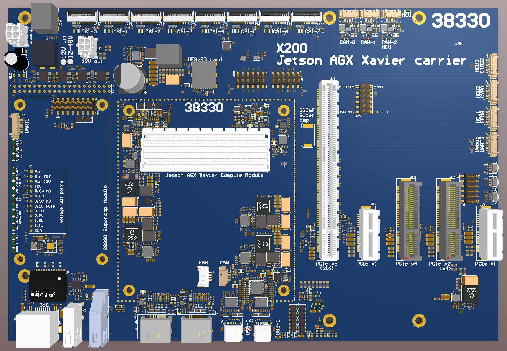 Auvidea Audio Video Media Iphone 4 Diagram Logic Board Jetson Agx Xavier Carrier