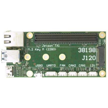 J90 compact carrier board for TX1/TX2 – Auvidea