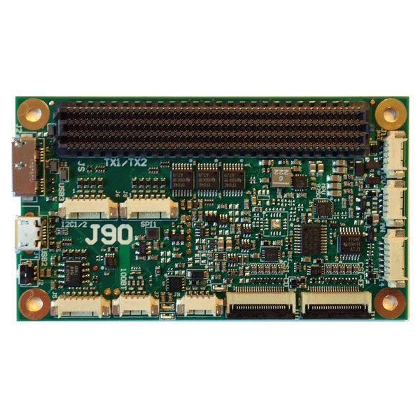 J90 compact carrier board for TX1/TX2
