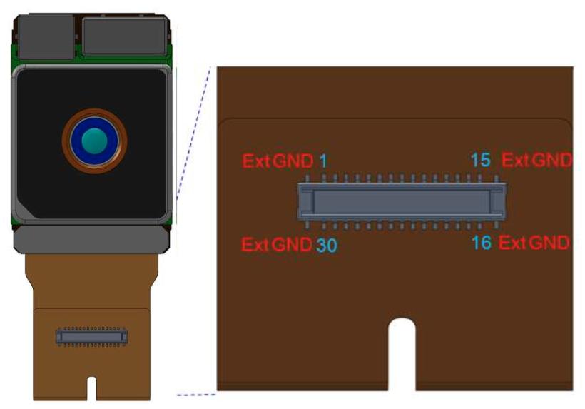 41 5 MP CSI-2 camera module (Toshiba TCM8647MD)