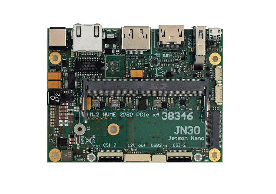 JN30 carrier board for Jetson Nano Dev  Kit rev  3 (PoE PSE)