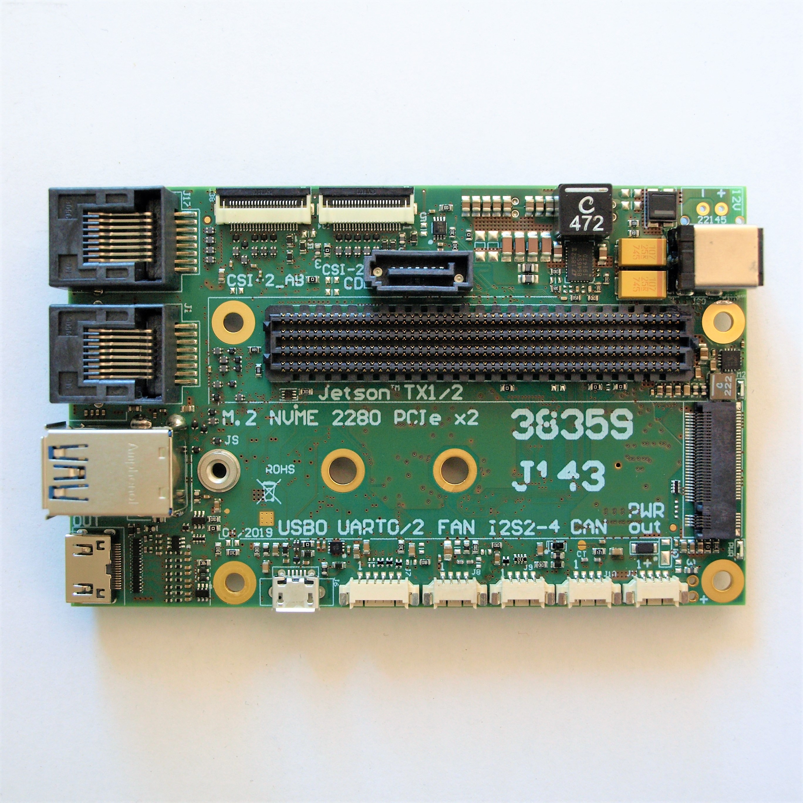 Jetson TX2 carrier board