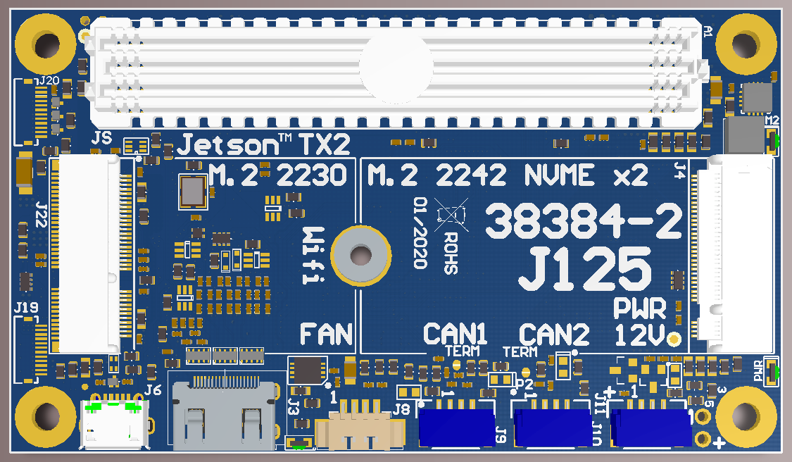 Jetson Xavier NX carrier board